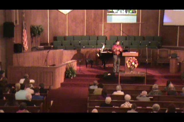 Still image of 10-10-2010 sermon