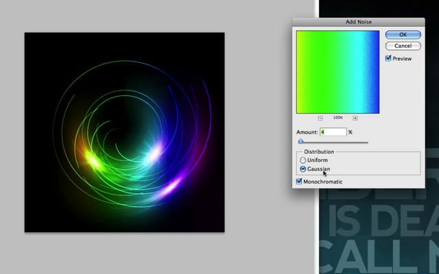 Creating a Color Vortex in Photoshop