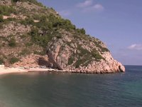 Carte postale vido de Javea: Plage-crique de Granadella
