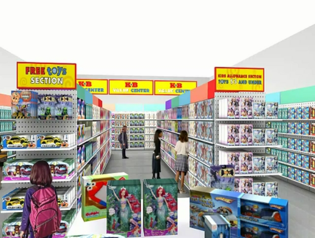 Kaybee Toys Store 55