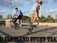 The OG Flatland Stunt Team