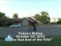 Today's Riding October 20,2010- The Rad Dad of the Ville