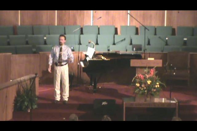 Still image of 10-17-2010 sermon