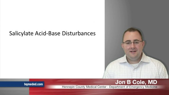 Salicylate Acid-Base Disturbances
