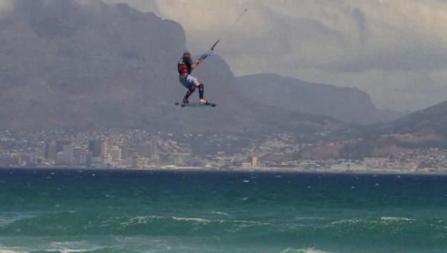 Best Kiteboarding Kahoona V2 action movie