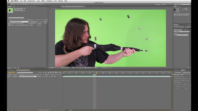 AE Basics - 8. Green Screen Removal Part 1
