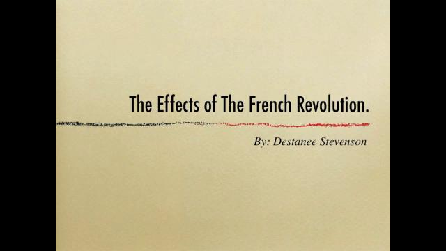 the impact of the french revolution - the national assembly styled itself the constituent assembly it drew up the declaration of the rights of man the new constitution drafted by the constitu.